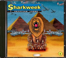 Egyptian Lions by Sharkweek